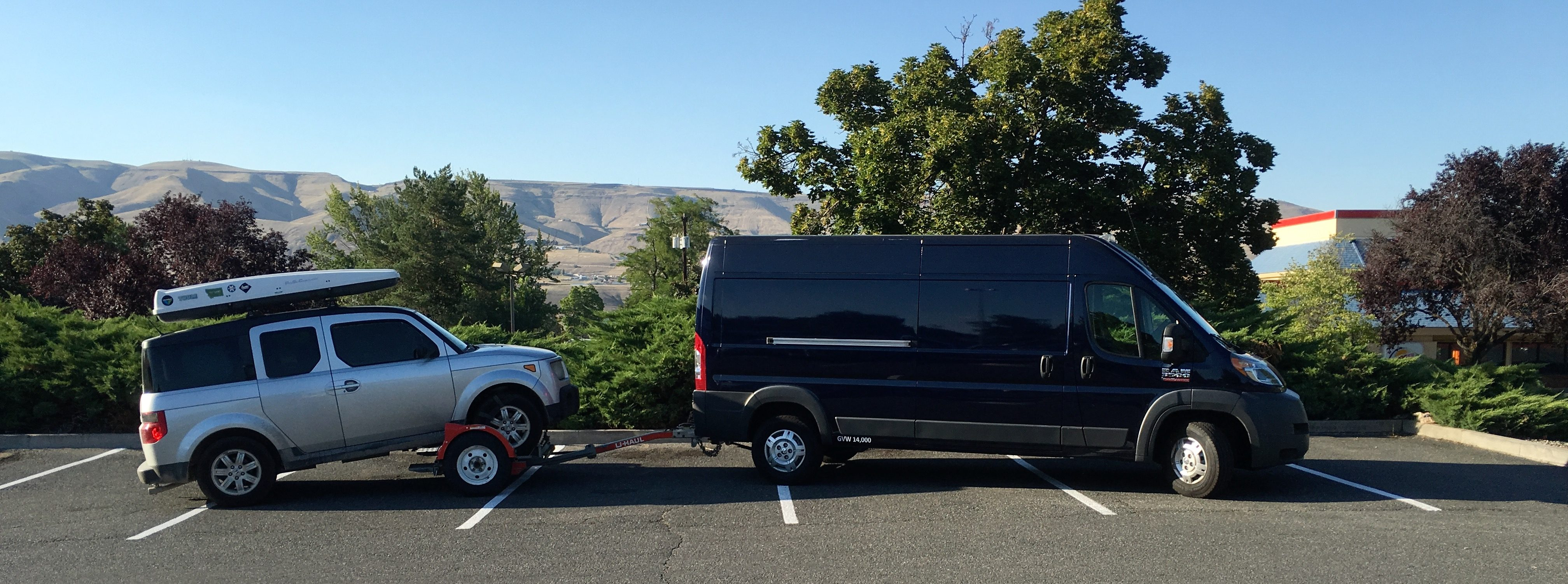 Ram ProMaster Van Purchased
