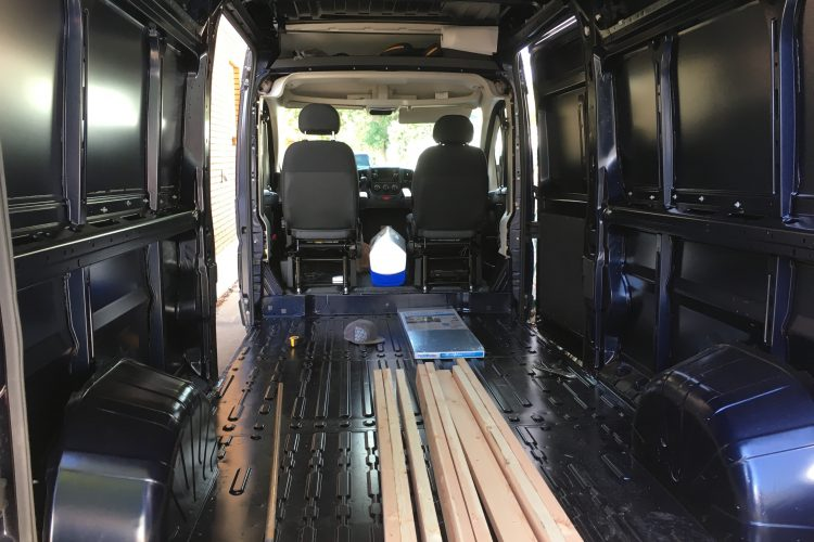 ProMaster Camper Van Conversion Step-By-Step Overview